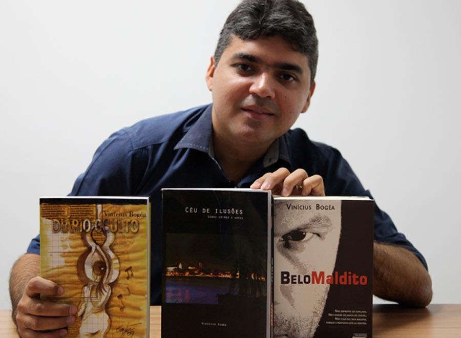 Escritor e Jornalista Vinicius Bogea