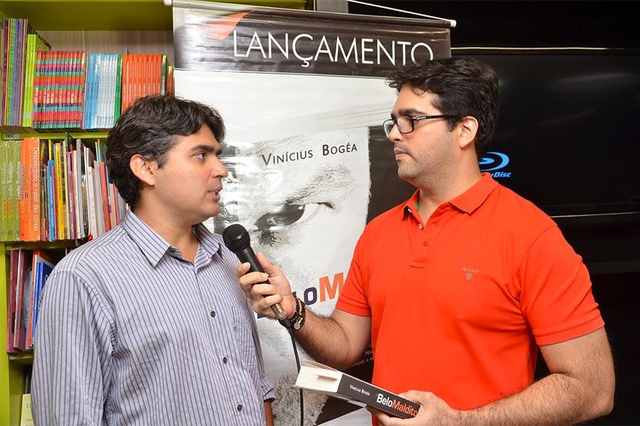 Vinicius Bogea Lança Livro Belo Maldito